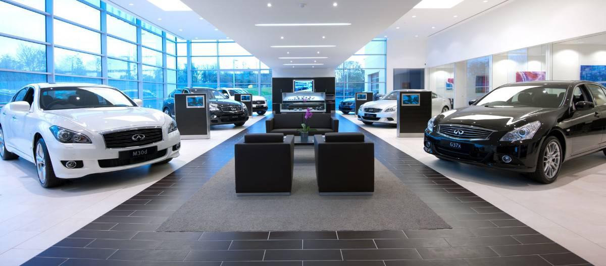 Infiniti Dealerships - inside view