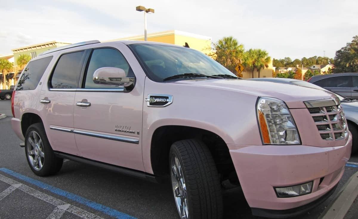 Mary Kay Pink Cadillac Escalade