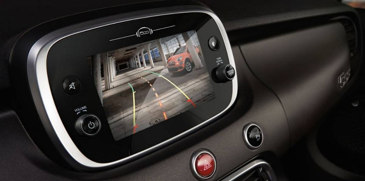 Parkview Rear Backup Camera - Fiat safety equipment