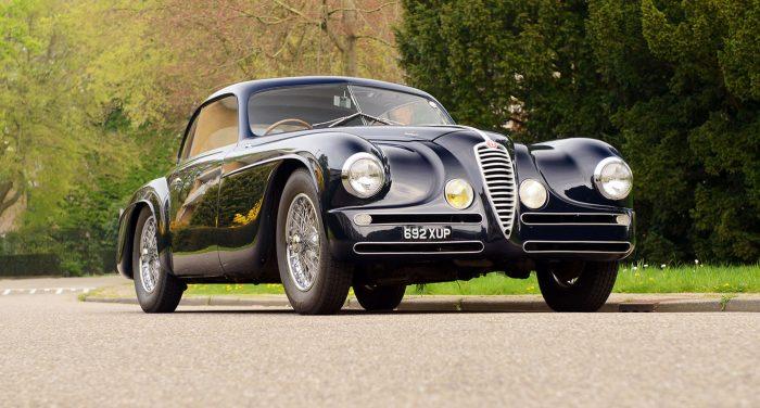 Alfa Romeo Villa D'Este Front 3/4