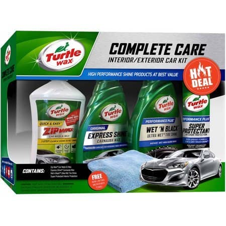 Turtle Wax 5-Piece Complete Care Kit