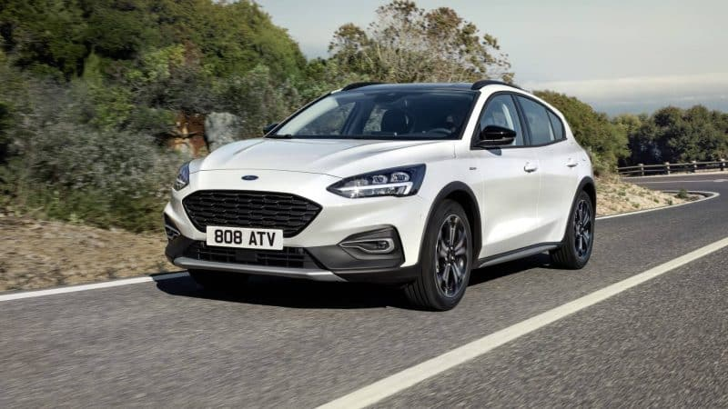 2020 Ford Focus Active front 3/4 view