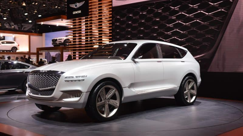 2020 Genesis GV80 will be one of the best crossovers 2020 is bringing our way and it probably won't look anything like the GV80 concept pictured here
