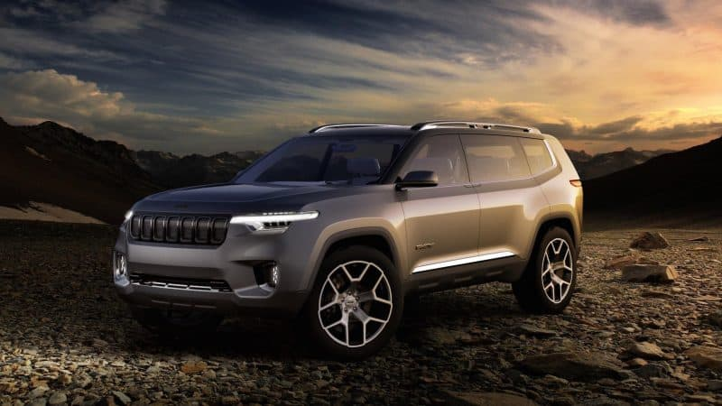 Jeep Yuntu three-row SUV concept