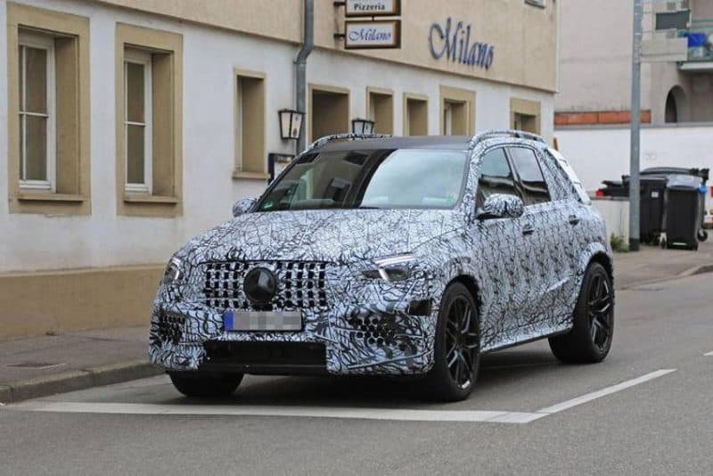 2020 Mercedes-Benz AMG GLE 63 test mule
