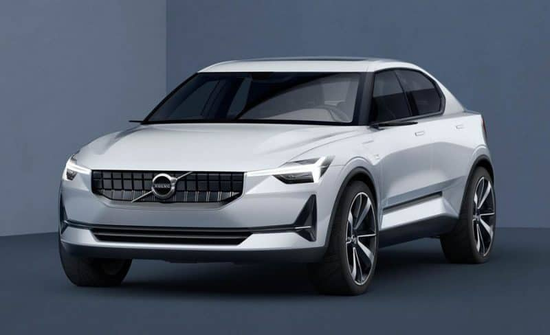 Volvo 40.2 Concept should preview the upcoming Polestar 2 electric car