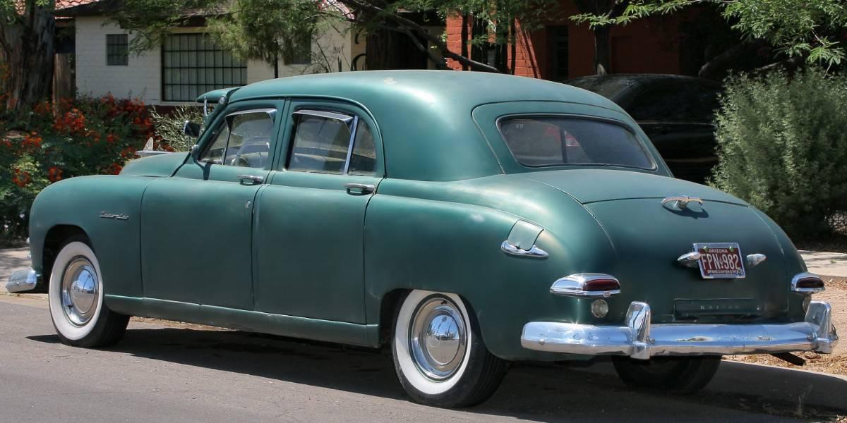 1949 Kaiser Traveler - left rear view
