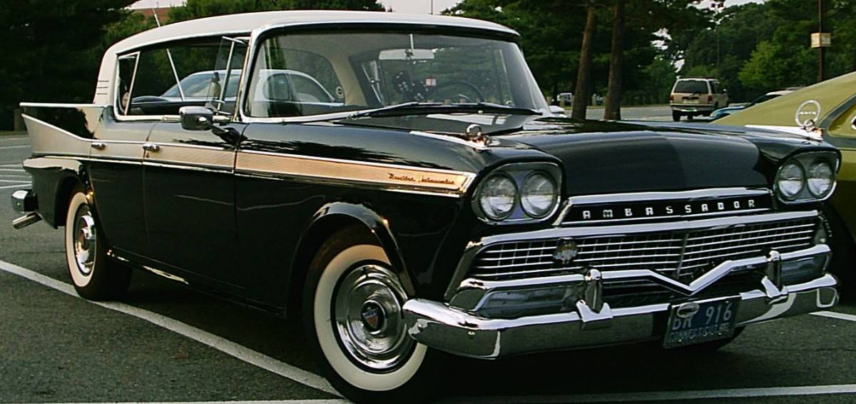 1958 AMC Ambassador four-door hardtop - Hardtop Sedan