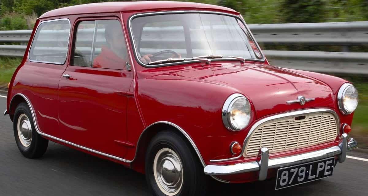 1959 Austin Mini - right front view