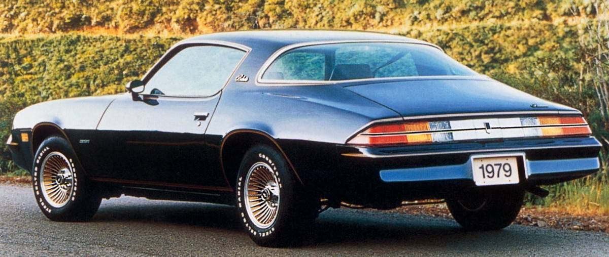 1979 Chevrolet Camaro Berlinetta - left rear view