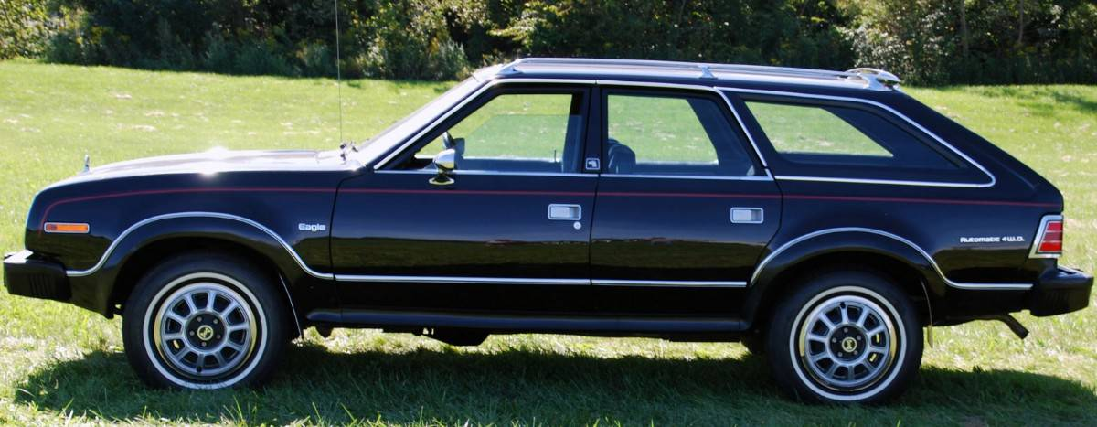 1980 AMC Eagle - early crossover vehicles