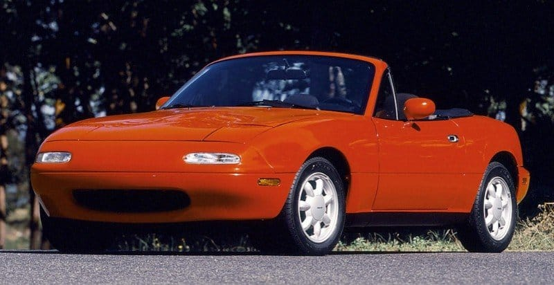 1990 Mazda Miata - drivers side front view