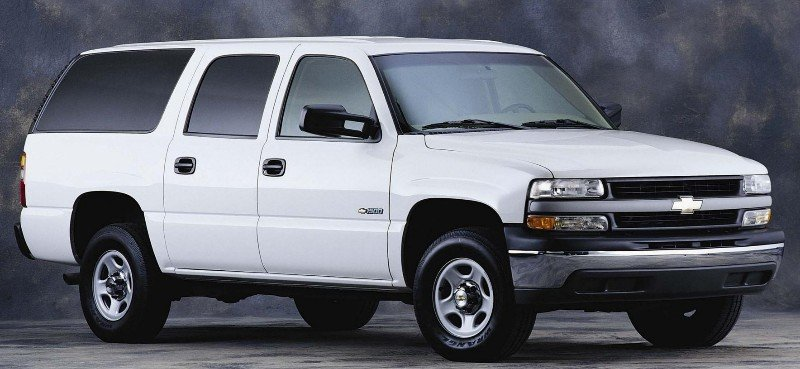 2001 Chevrolet Suburban - right front view