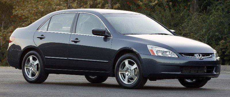 2005 Honda Accord Hybrid - right side view
