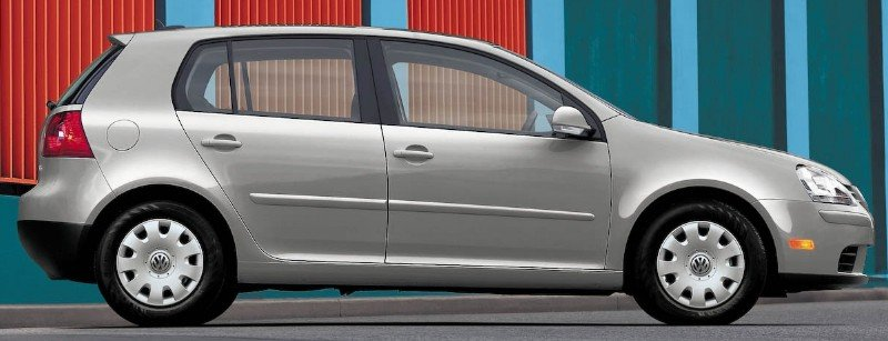 2009 Volkswagen Rabbit - right side view