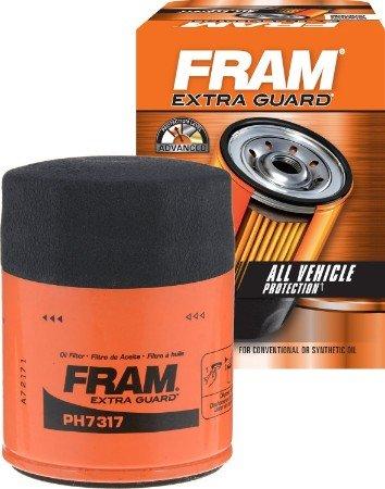 FRAM extra guard Spin-On Oil Filter
