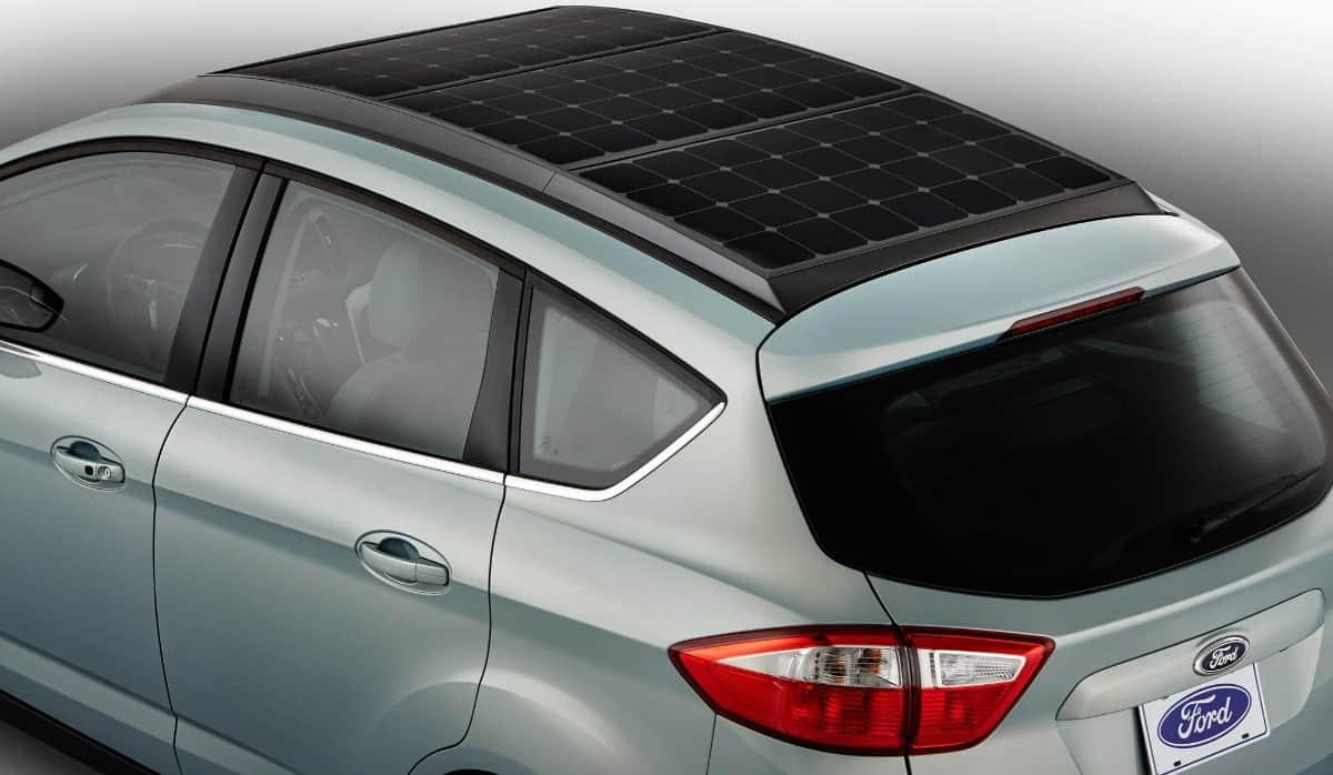 Ford solar car - top view