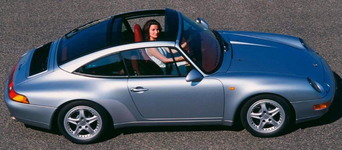 Porsche 993 Targa - retractable glass roof