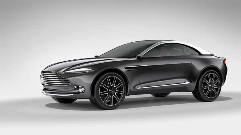 Aston Martin DBX concept side view