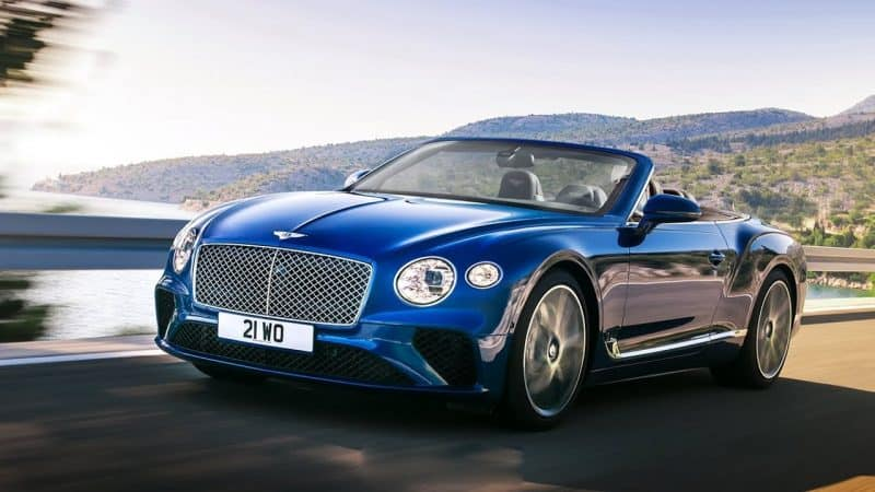 Bentley Continental GT Convertible rendering