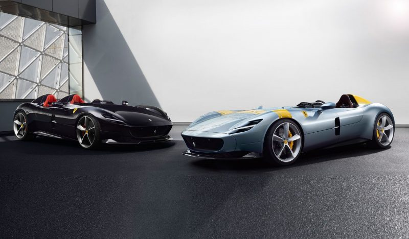 2020 Ferrari Monza SP1 and SP2