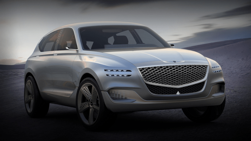 Genesis GV80 concept from the 2017 NY Auto Show