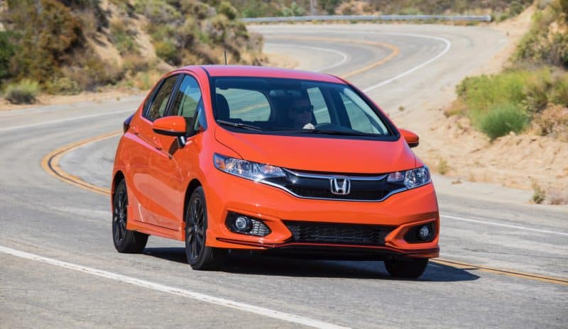 Honda Fit front 3/4 view