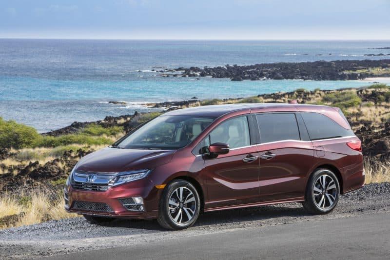 Honda Odyssey profile view