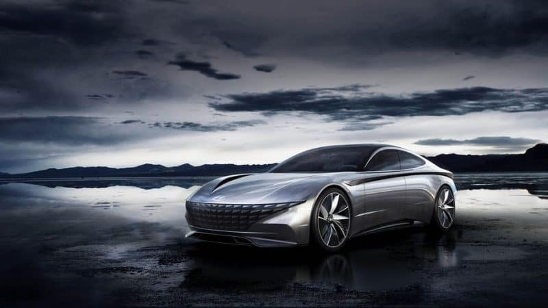 Hyundai Le Fil Rouge concept as an inspiration to the 2020 Hyundai Sonata