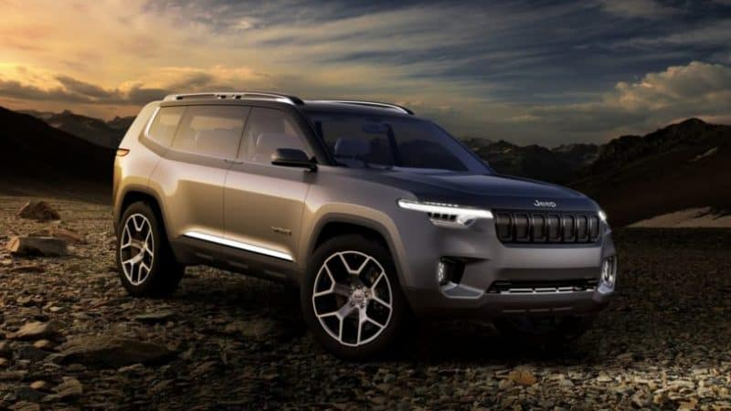 Jeep Yuntu concept previews the upcoming three-row Wagoneer SUVs