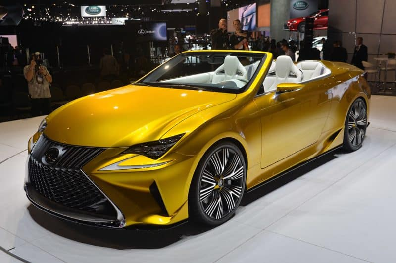 Lexus LF-C2 concept car previews the 2020 LC convertible