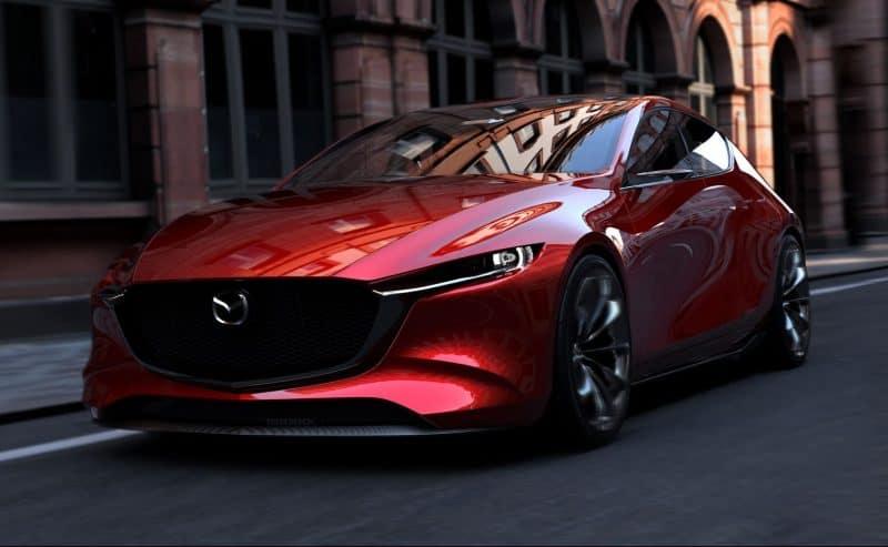 Mazda Kai concept will morph into the 2020 Mazda 3 hatchback