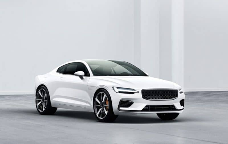 2020 Polestar 1 front 3/4 view