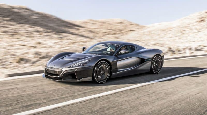 2020 Rimac C_Two is one of the most powerful new cars 2020 will bring to market