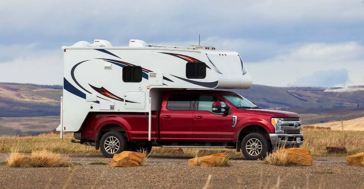 truck camper - camper shell