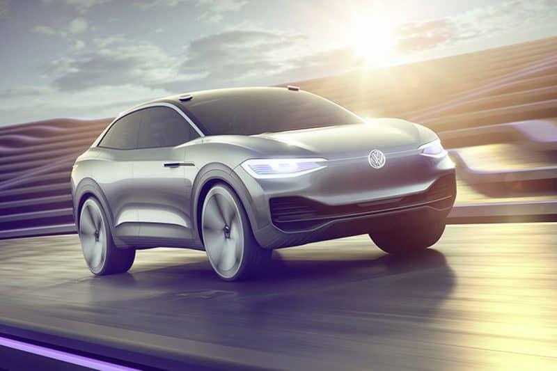Volkswagen I.D. Crozz concept front 3/4 view