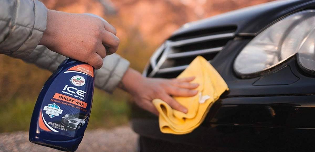 spray wax for cars