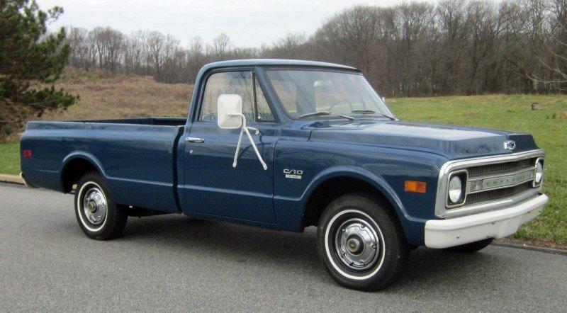 1969 Chevrolet C10 - engine mount recall