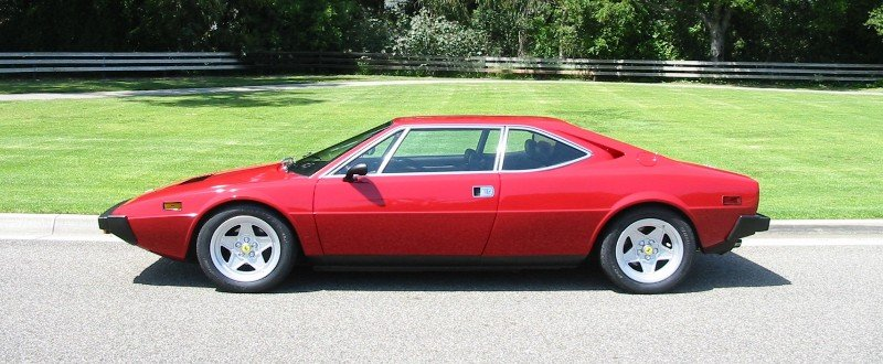 Dino 308 GT4 - left side view