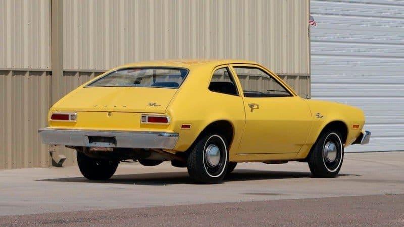 1976 Ford Pinto - gas tank recall