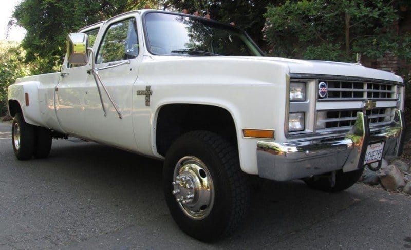 1986 Chevrolet K30 - right front view
