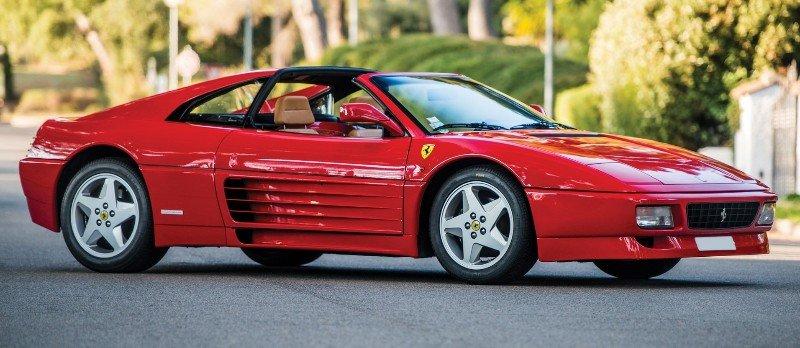 1994 Ferrari 348 GTS - passenger side view