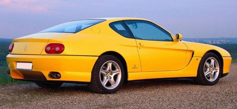 1999 Ferrari 456 - right rear view
