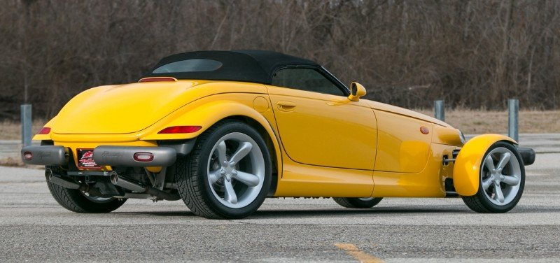 1999 Plymouth Prowler - right rear view