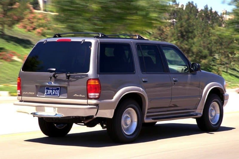2000 Ford Explorer - cruise control recall