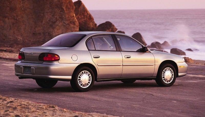 2002 Chevrolet Malibu - right side view