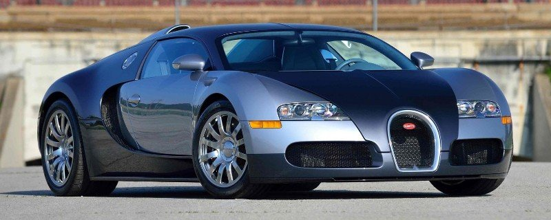 2006 Bugatti Veyron - right front view