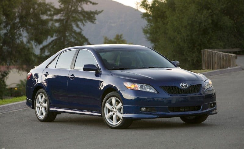 2008 Toyota Camry - gas pedal recall