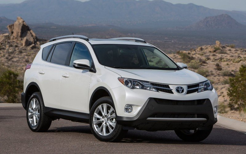 2014 Toyota RAV4 - rear seat recall