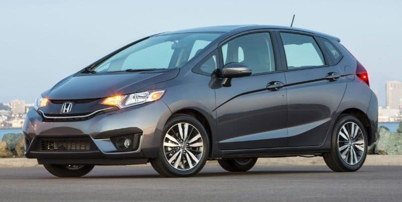 2016 Honda Fit - left side view